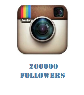 200000 Instagram Followers