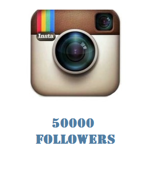 50000 Instagram Followers